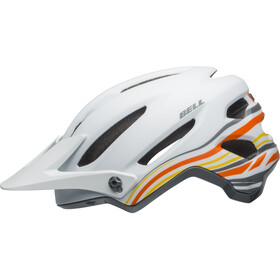 Bell 4Forty Helmet rush matte/gloss white/orange
